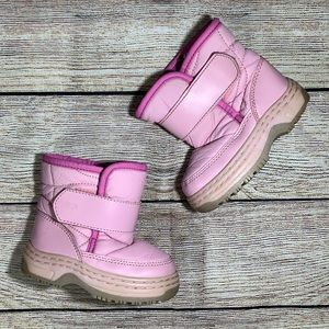 ❄️ Pink Circo Baby Snow Boots